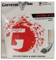 Gamma Liv Wire Racquet String